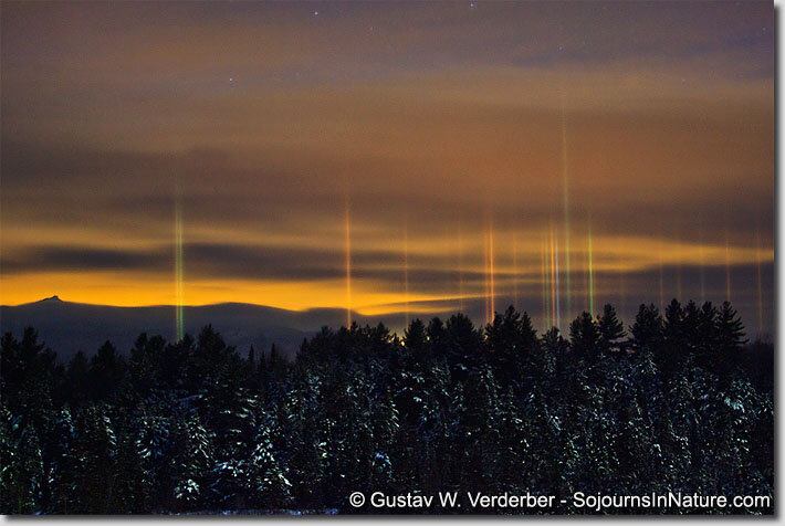 Christmas Night Northern Lights
