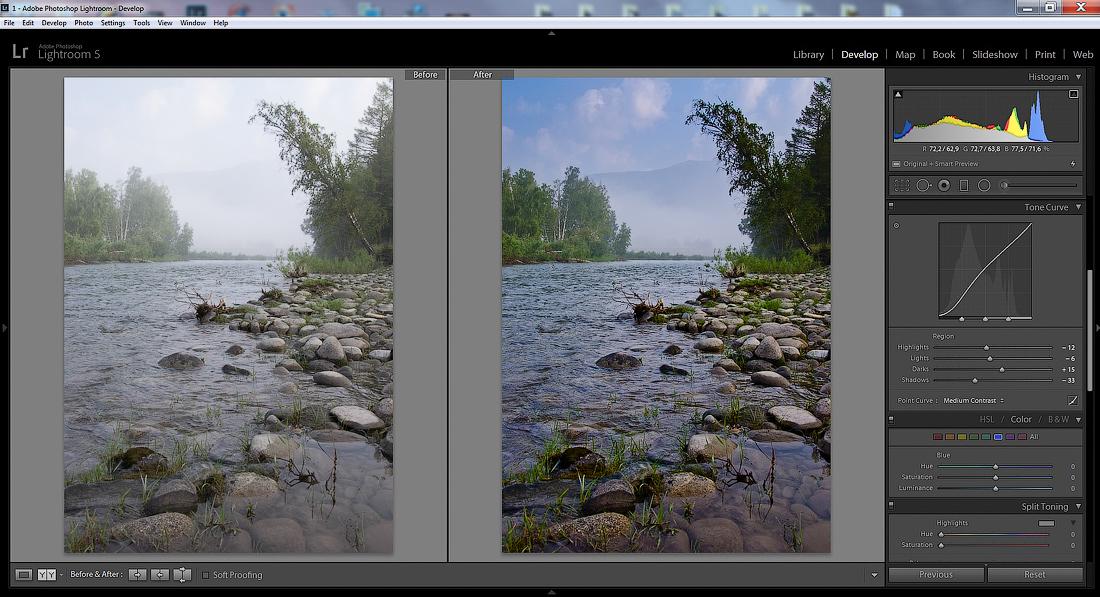 Техника обработки фотографий с низким контрастом слышали