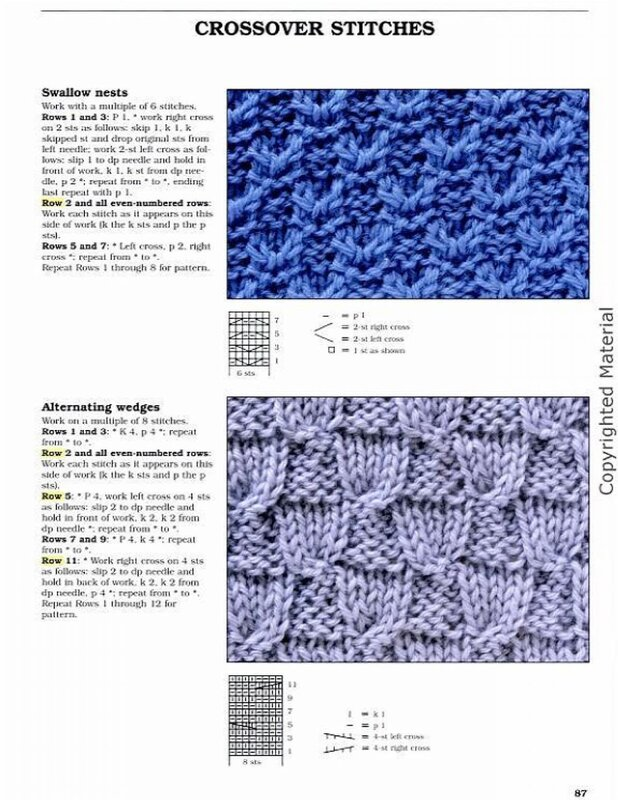 Big Book of Knitting Stitch Patterns - Узоры. Мотивы ...