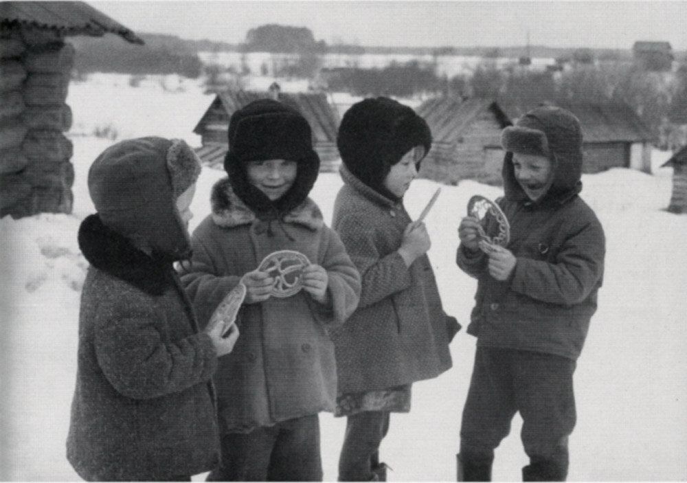 1977. «Тетерочный день» в деревне Гарь. Каргополье