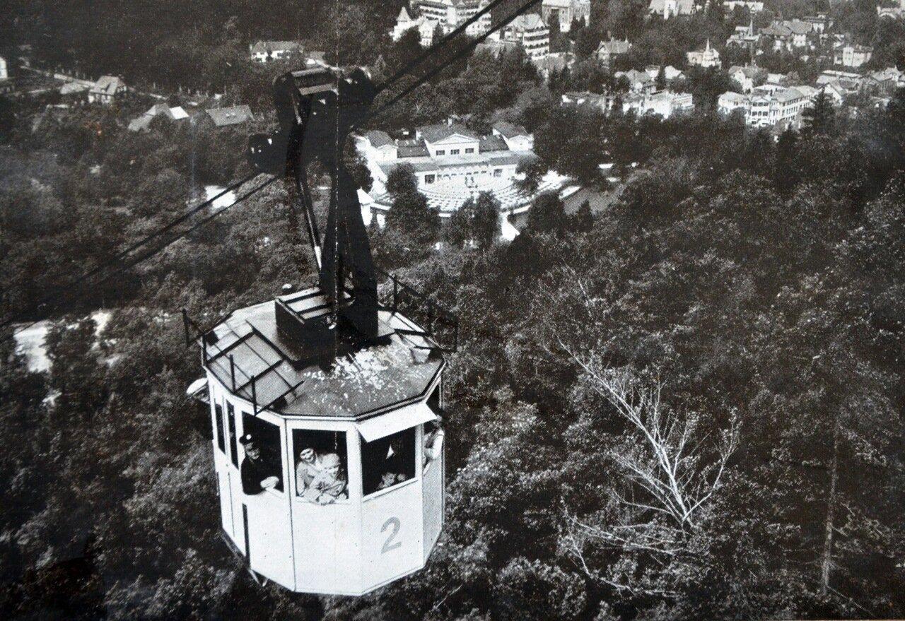Бад-Гарцбург. Вид города с горы Шарфенштайн, 1933.