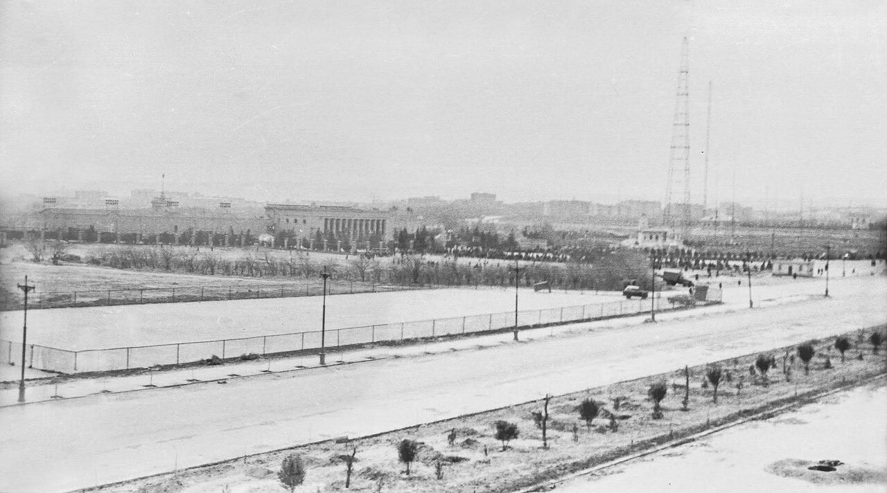 1968 . Республиканский стадион им. Ленина. Ленинградский проспект
