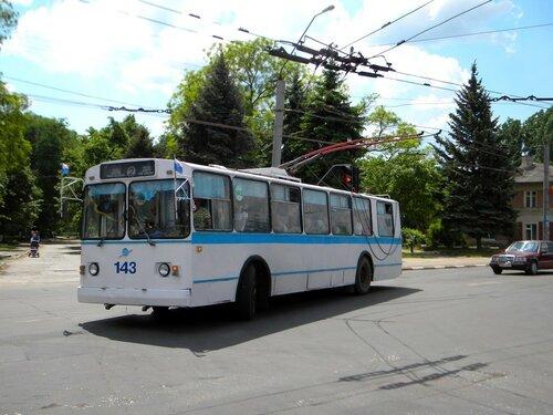 В Бельцах из-за обесточивания сети остановились троллейбусы