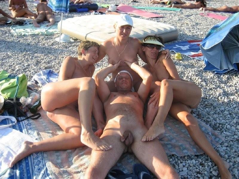 секс на пляже фото видео