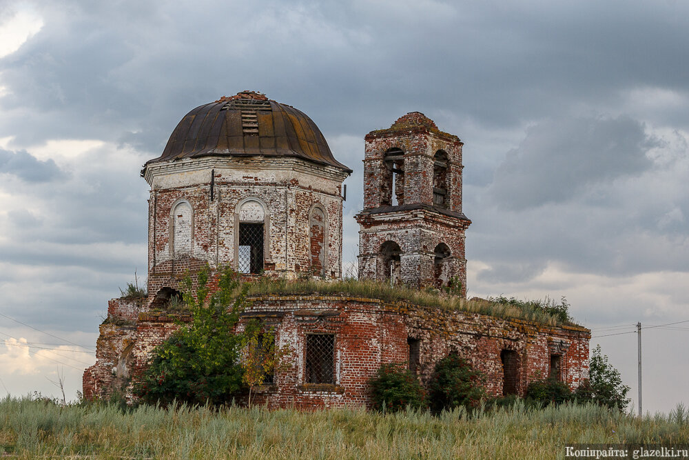 Тюбяк-Чекурча. Церковь Германа Казанского.