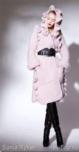 Клубничный Зефир - пальто от Sonia Rykiel