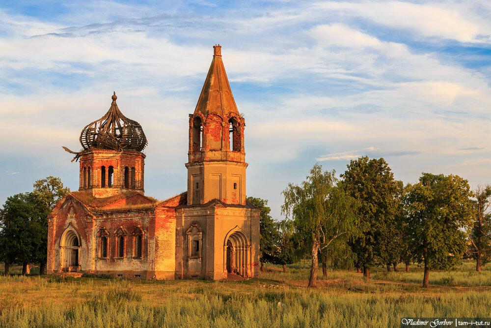Богодухово, Духосошественская церковь