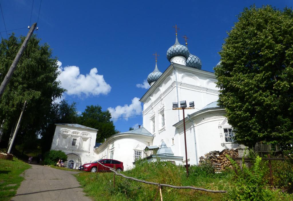 Богоявленская церковь, Юрьевец, Ивановская область