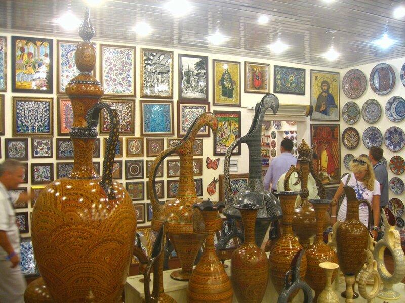 Каппадокия. Магазин керамики в Чавушин - Музей - turkey, cappadocia