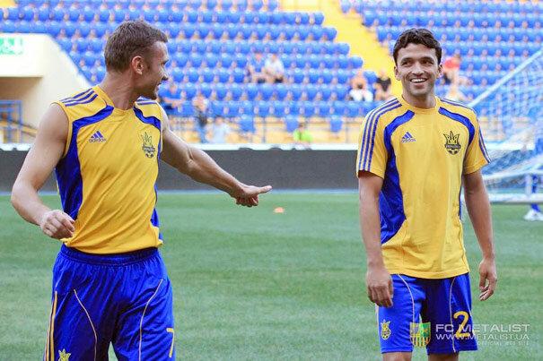 Эдмар и Андрей Шевченко