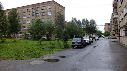 Фото города Инта №5060  Горького 5 и двор Горького 3 12.07.2013_13:29