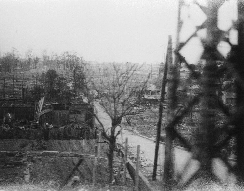 Bombed area, April 10,1946