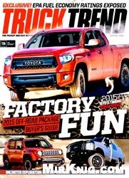 Журнал Truck Trend - September-October 2015