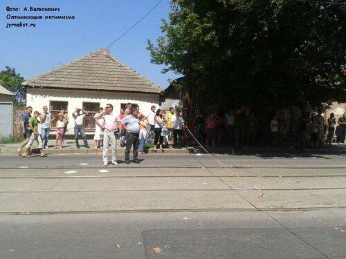 взрыв в центре луганска фото