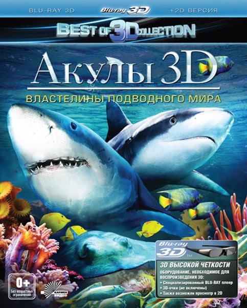 ����� 3D: ���������� ���������� ���� / Sharks 3D: Kings of the Ocean (2013) HDRip