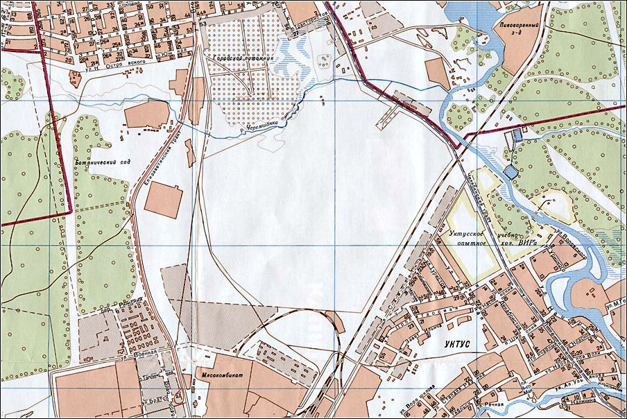 карта Ботаника 90е