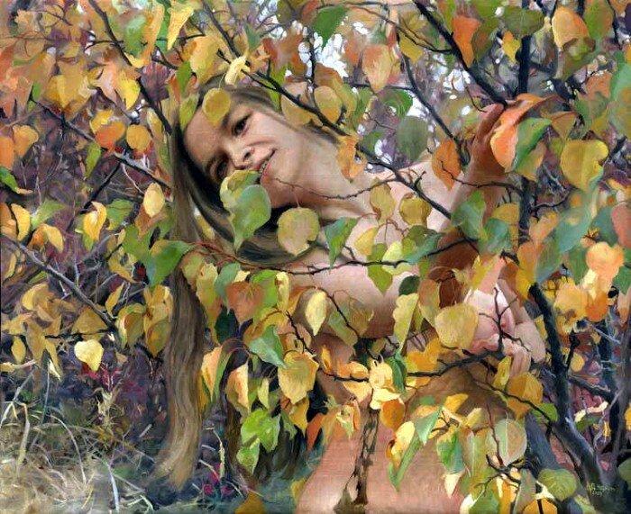 О, женщина, краса земная! Денис Чернов. НЮ