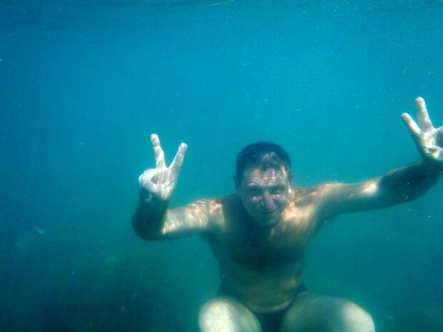привет под водой