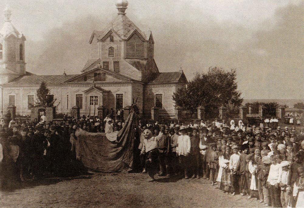 «Вождение русалки-коня» в с. Оськино Воронежской губ. 1930-е.