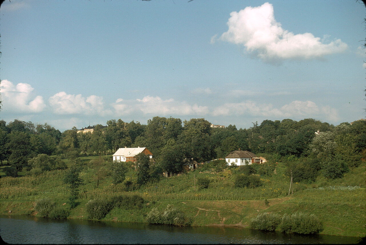 Возвращение в Европу по дороге Киев-Львов. Река Корчик