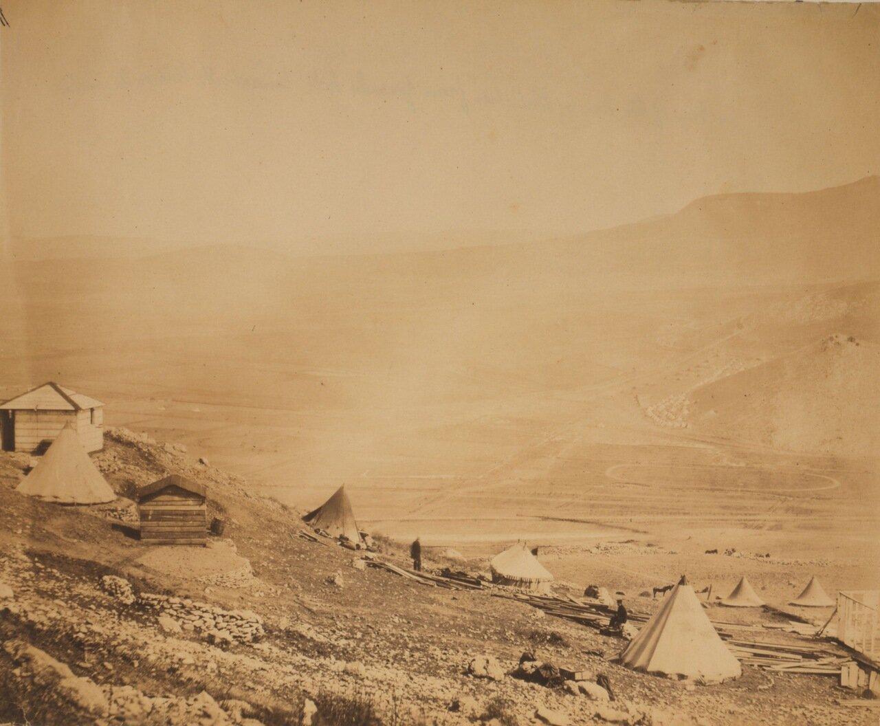 1855. Вид на Балаклаву