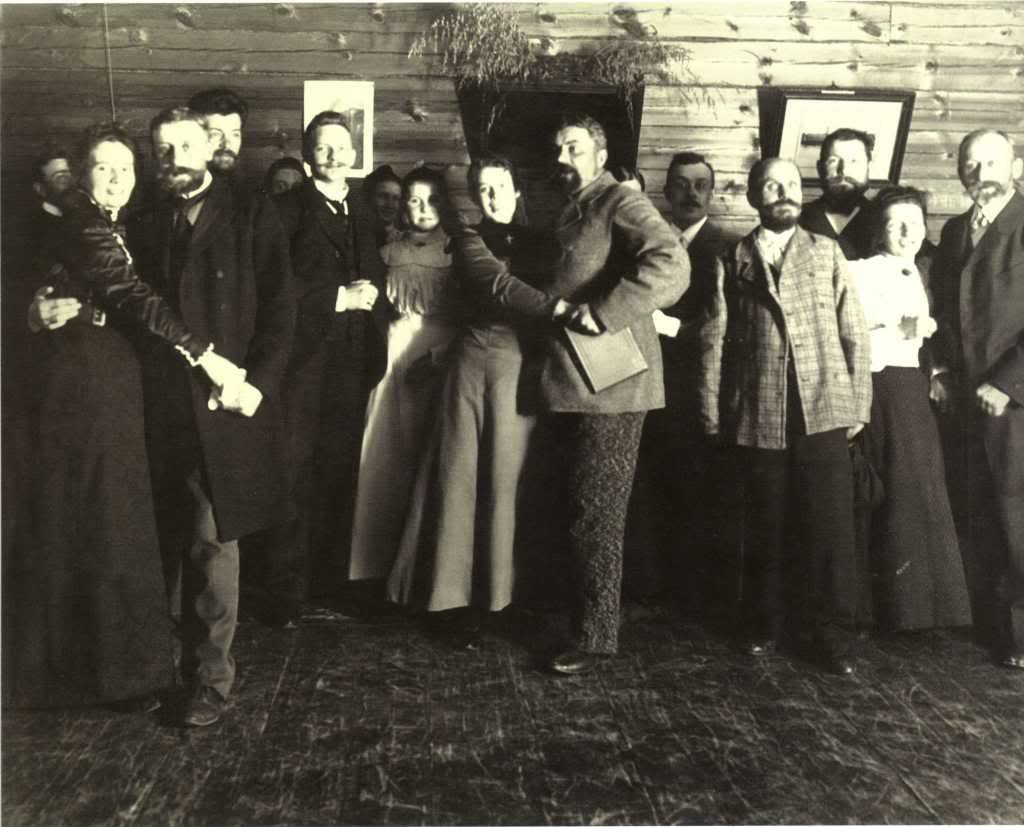 Праздник в доме коллежского регистратора А.Панова