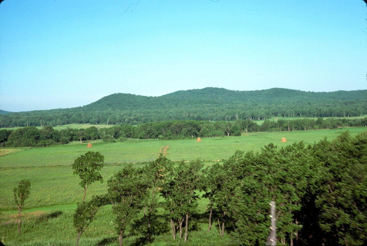 Провинциальный пейзаж в Приморье