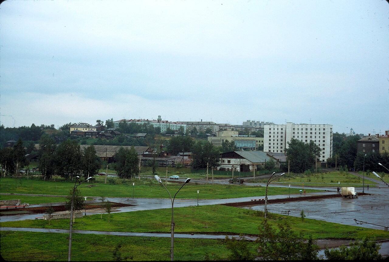 Пермь в дождь