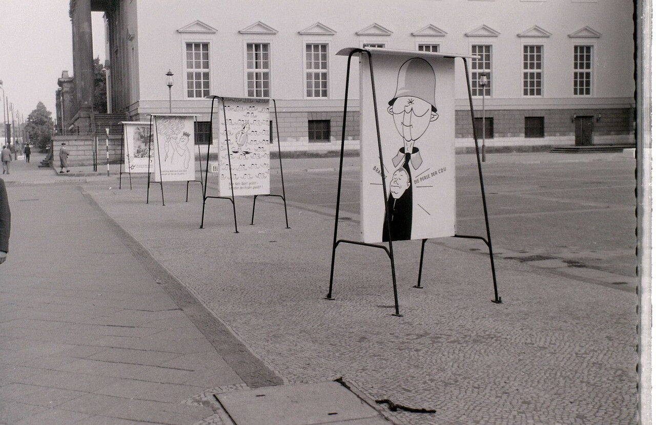 9 сентября 1959. Возле оперного театра, Восточный Берлин