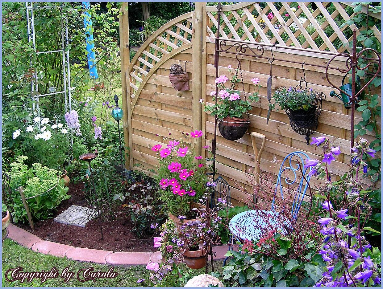 Уютные уголки сада фото