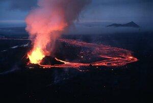 Лейрхньюкюр, извержение Крафлы 1984 года