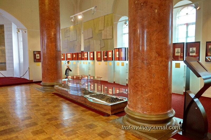 Спасо-Бородинский женский монастырь, экспозиция музея