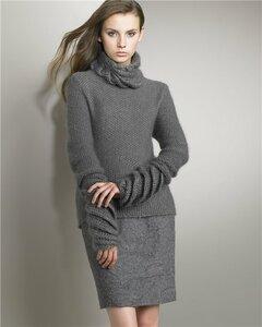 Жемчуг и спирали - свитер от Нина Риччи