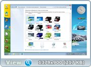 Windows 7 Home Basic SP1 by Addon (x64) [2013] [Rus]