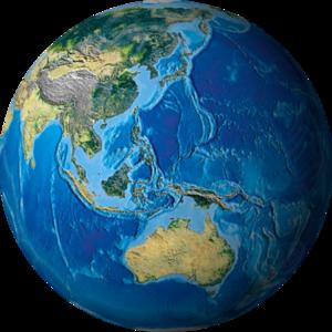 Картинки планеты на фоне природы картинки