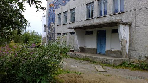 Фотография Инты №5454  Левая часть южной стороны ДК