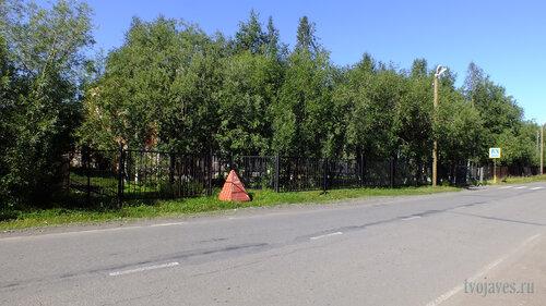 Фото города Инта №5570  Южный угол Восточной 100 (шкла №2) 06.08.2013_13:56