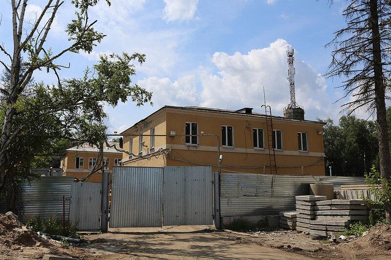 Хозяйственные постройки Объекта №260 9-го Управления КГБ СССР