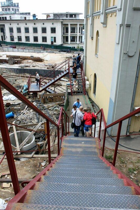 Лестница для пешеходов