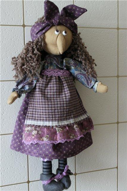 Кукла баба яга своими руками