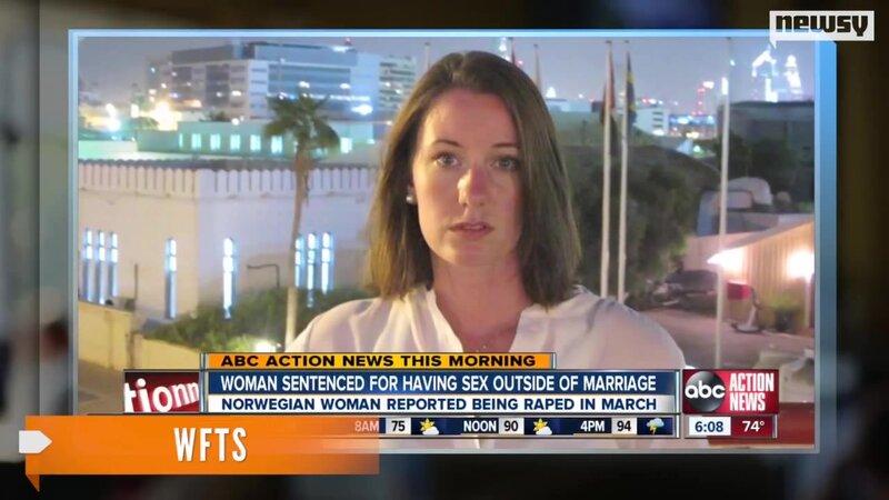В Дубае изнасилованную норвежку приговорили к 16 месяцам тюрьмы