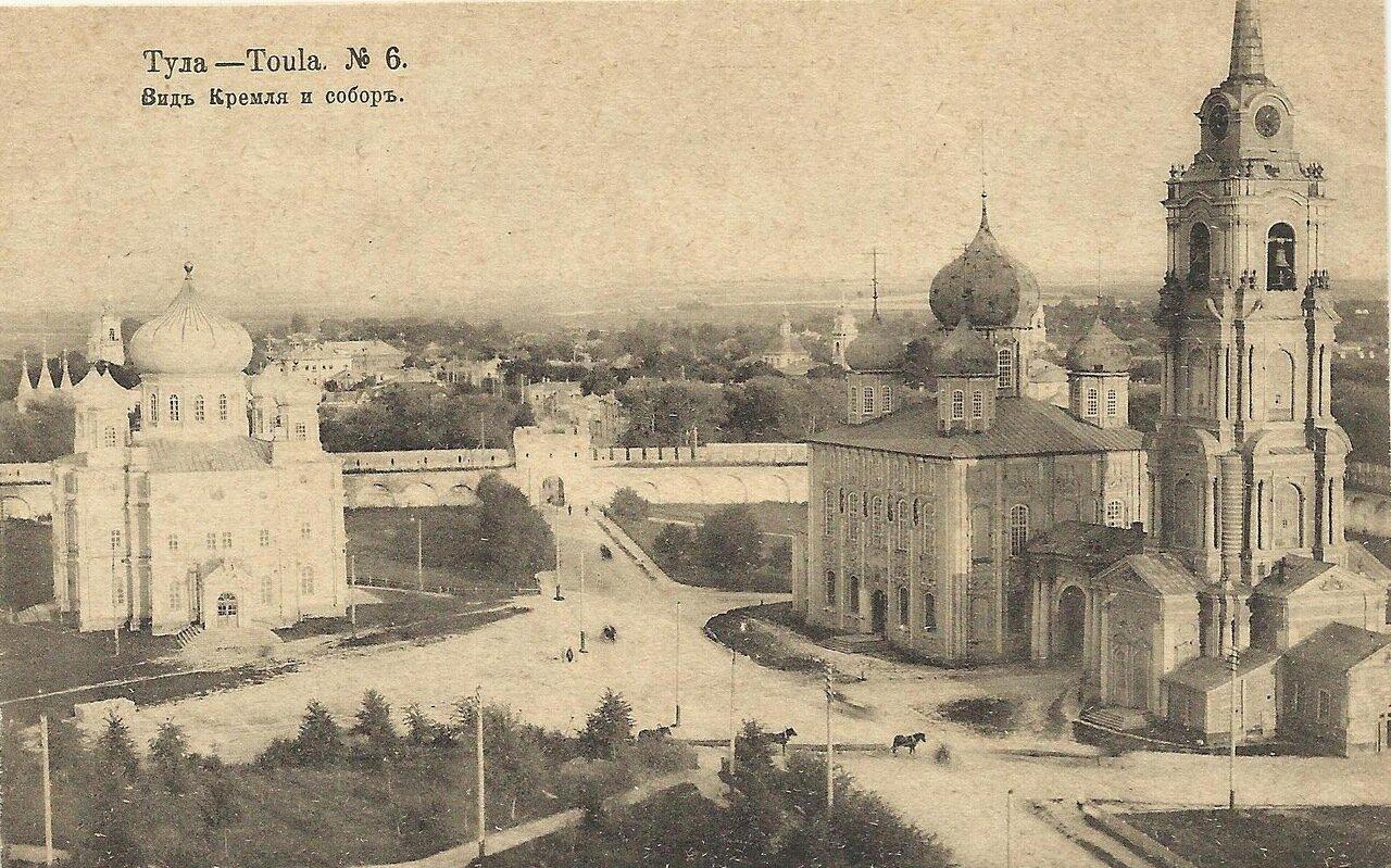 Вид Кремля и собор