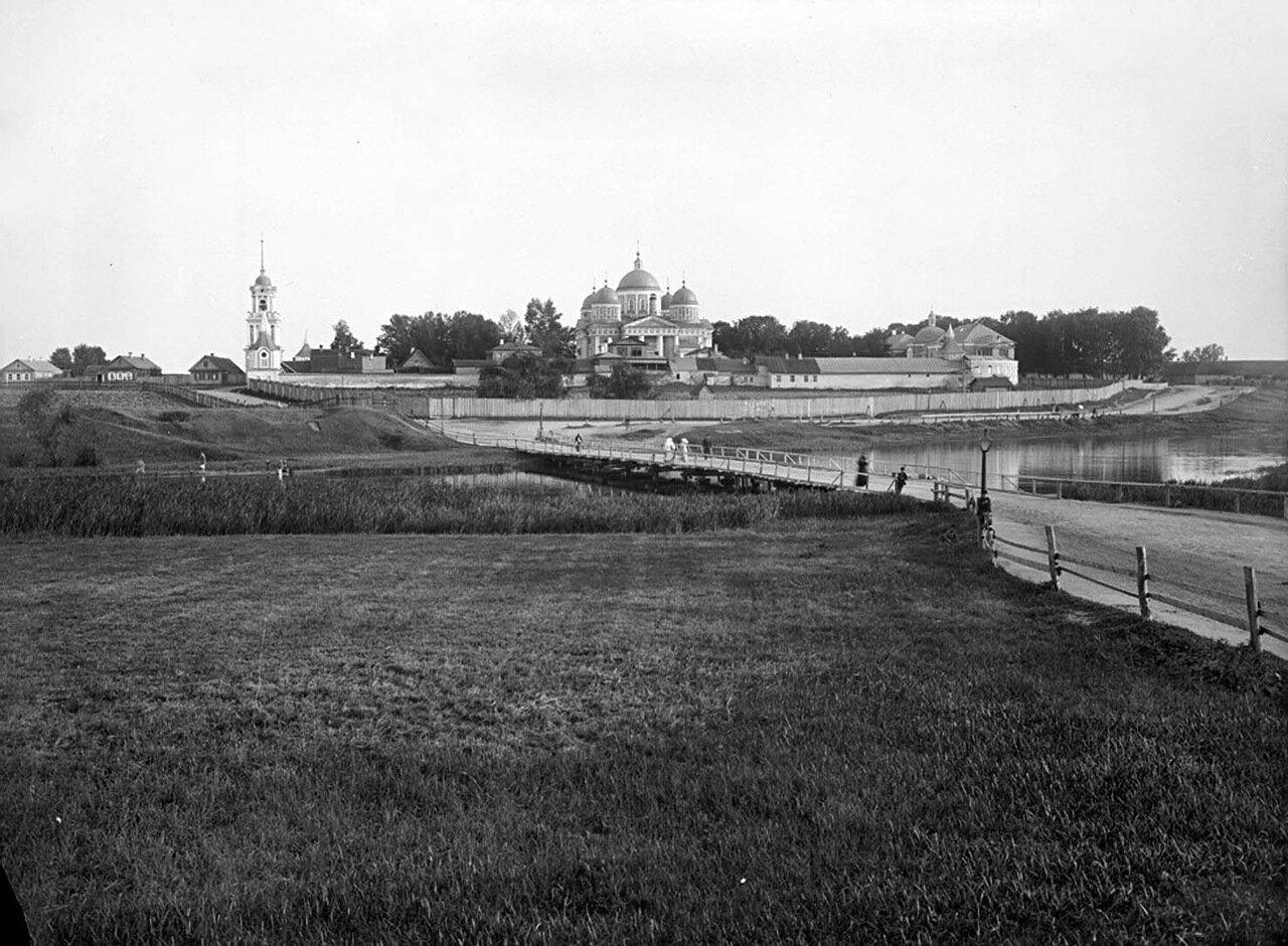 Общий вид Христорождественского женского монастыря. 1903 г.