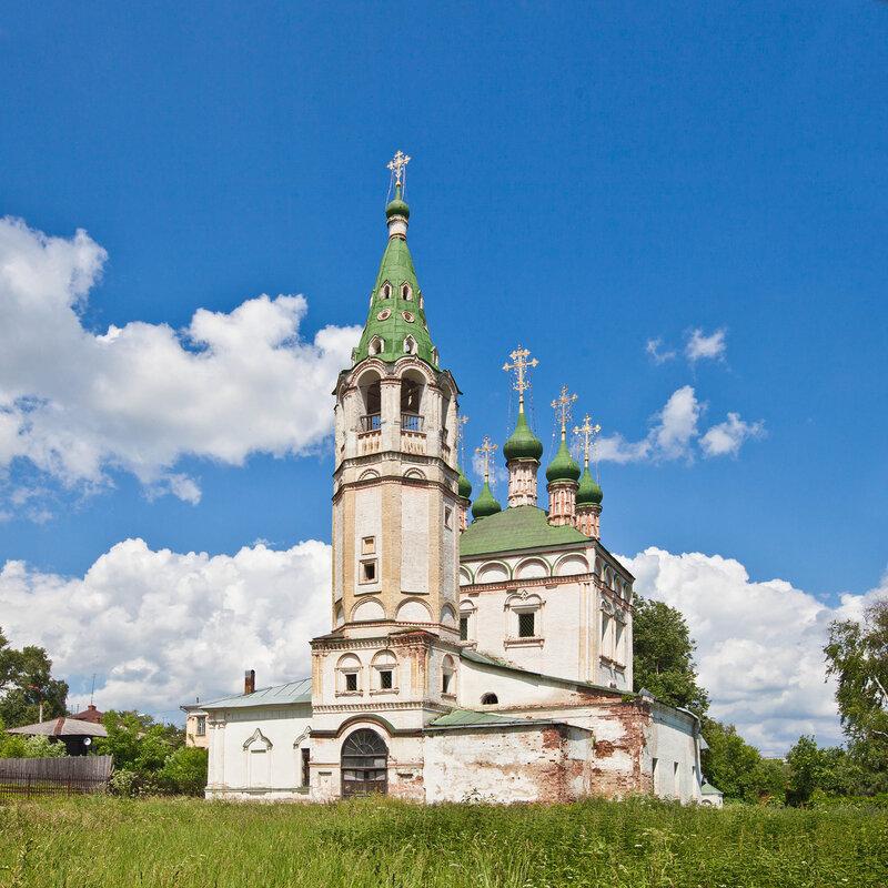 Церковь Живоначальной Троицы в Серпухове