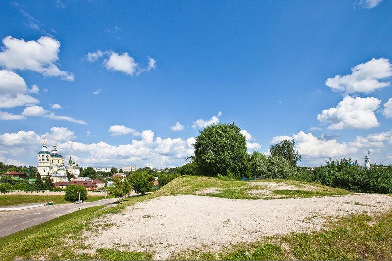 Место, где находилась Караульная башня Серпуховского кремля