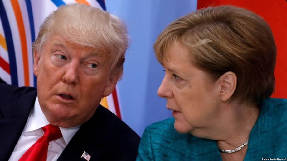 Белый дом: Меркель едет к Трампа