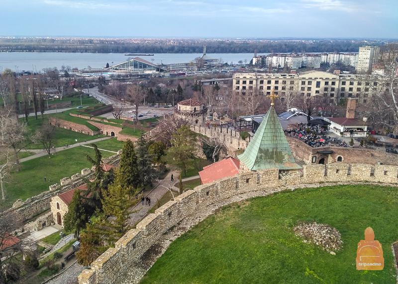 Смотровая площадка с Белградской крепости