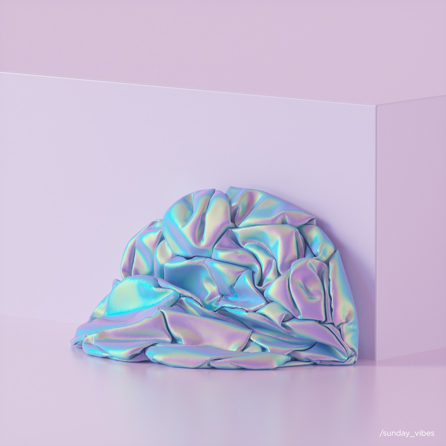 Mysterious Pastel 3D Artworks
