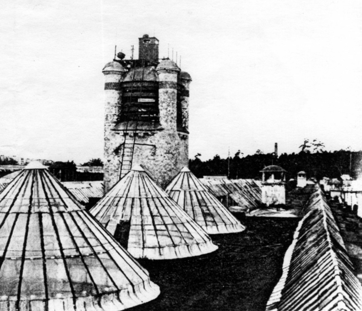 Крыша Новоткацкой фабрики Богородско-Глуховской мануфактуры