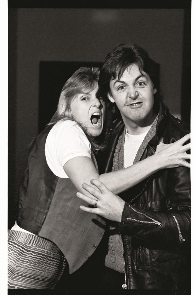 1979. Линда и Пол Маккарни
